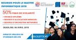Bourse Master Informatique IFI 2018