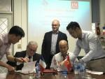 Signature de la Convention d'application entre l'IFI et l'École de Management de Normandie (EMN)