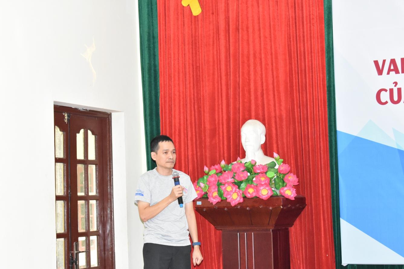A Thanh Son giam doc IFI Solution phát biểu