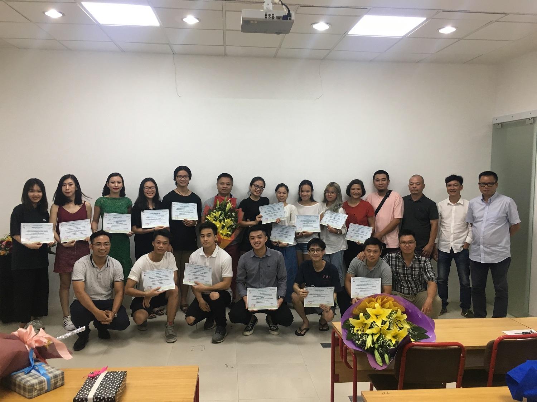 Hình ảnh buổi lễ bế giảng lớp 'Điện ảnh 4.0' ngày 21/06/2019